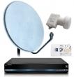 Комплект НТВ+ HD - 1. Ресивер цифровой спутниковый Opentech OHS-1740V 2. Смарт-картa НТВ+ 1200 3. Конвертор спутниковый круговой 1 выход GSLF-51E 4. Антенна спутниковая офсетная АУМ CTB-0.6-1.1 0.6 605